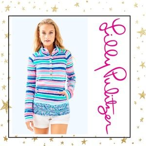 Lilly Pulitzer Captain Popover Sandy Shell  Print
